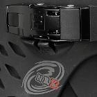 Устройство роликовых коньков, из чего состоят роликовые коньки. Верхняя бакля