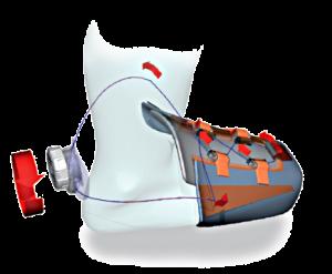Fila Q-Fit - система быстрой шнуровки и от Fila