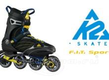 роликовые коньки, K2 FIT 80 Sport, обзор, комментарии, отзывы, описание
