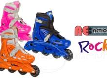 Детские ролики Re:Actoin Rock - обзор, отзывы, комментарии, описание